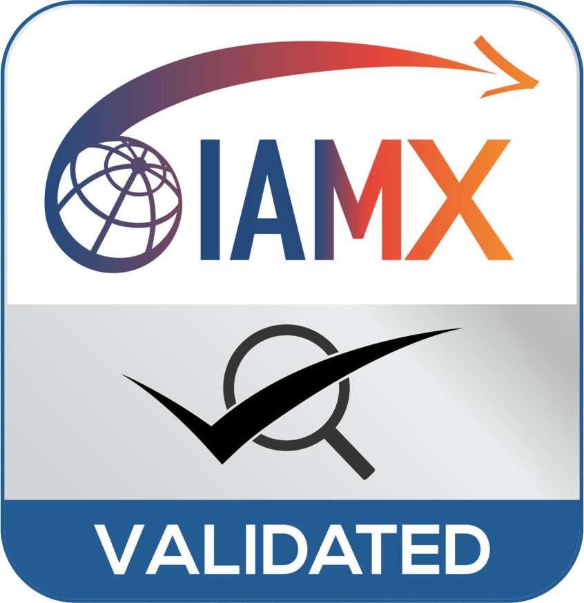 IAMX VALIDATED LOGO