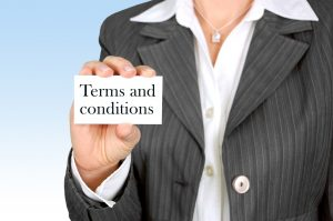 terms and conditions of moving contract