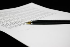 pencil and moving contract