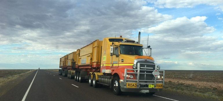 ask your third-party logistics partner- a moving truck
