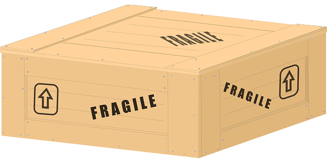 wooden crate for Packing sculptures for transport