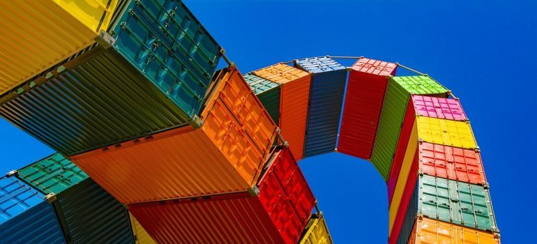 Containers, get shipping insurance
