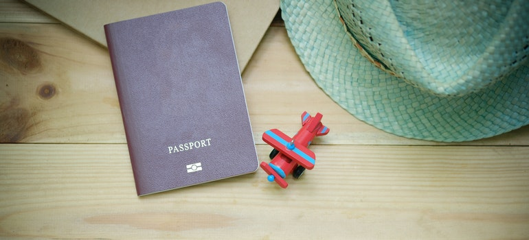 Passport is essential for an international office moving checklist