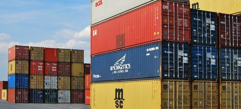 Durable containers-using metal shipping containers