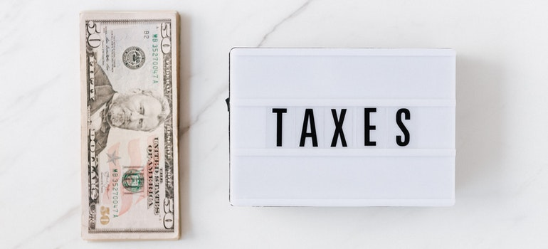 Taxes and some money