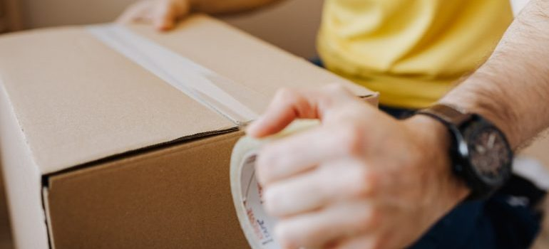 look for packing services when researching moving companies in Bahrain