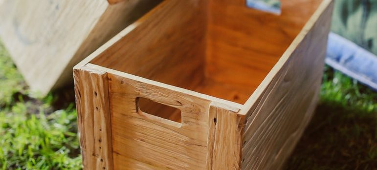 packing fragile items in wooden crates is the way to go