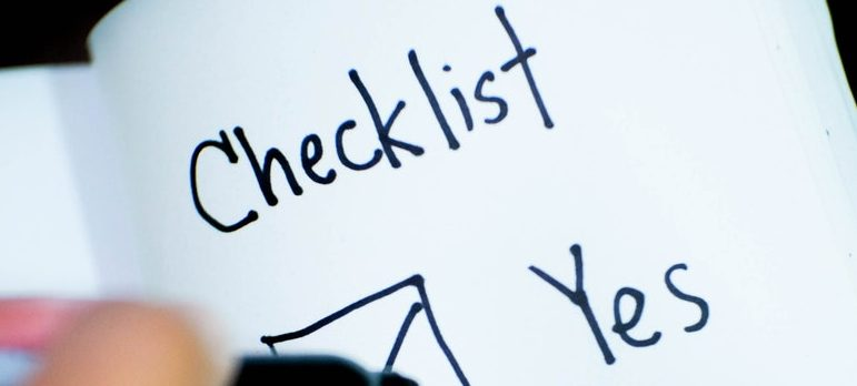 Creating a packing checklist is one of the packing tips that will take a big load off your back