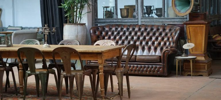 Furniture - packing family heirlooms for international shipping